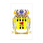 Rosenvasser Sticker (Rectangle 50 pk)