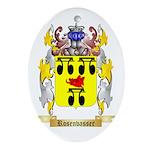 Rosenvasser Oval Ornament