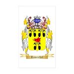 Rosenthal Sticker (Rectangle 50 pk)