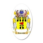 Rosenthal 35x21 Oval Wall Decal