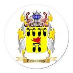 Rosenstengel Round Car Magnet