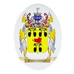 Rosenstengel Oval Ornament