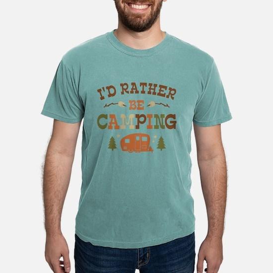 Rather Be Camping C1 Mens Comfort Colors T-Shirt
