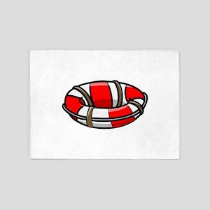 Lifesaving float 5'x7'Area Rug