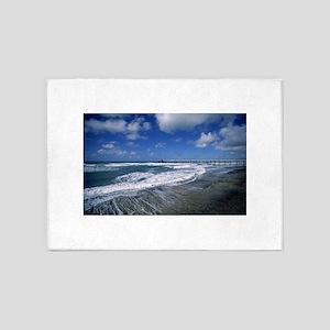 beach 5'x7'Area Rug