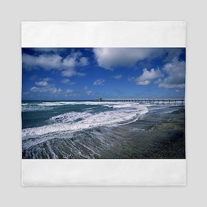 beach Queen Duvet