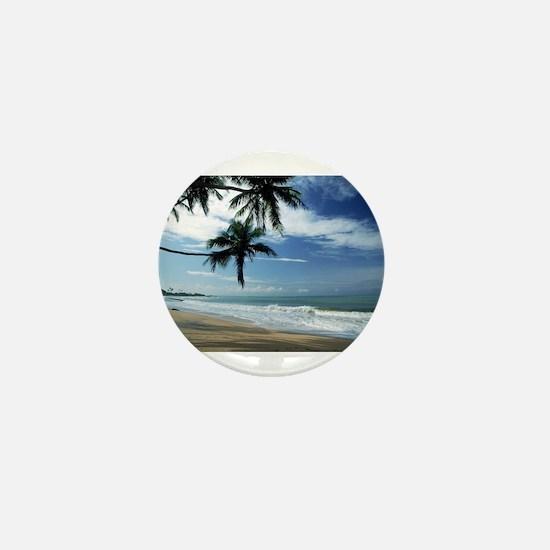 Cute Barbados Mini Button