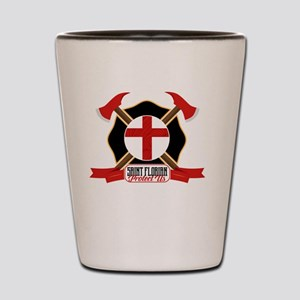 Saint Florian Shield Shot Glass