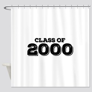 Class of 2000 Shower Curtain