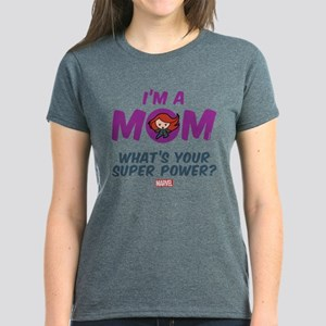 Marvel Mom Black Widow Women's Dark T-Shirt