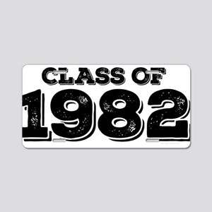 Class of 1982 Aluminum License Plate