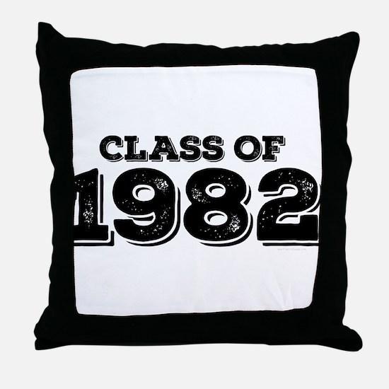 Class of 1982 Throw Pillow