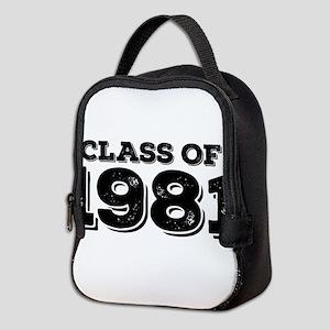 Class of 1981 Neoprene Lunch Bag