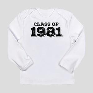 Class of 1981 Long Sleeve T-Shirt