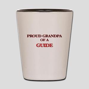 Proud Grandpa of a Guide Shot Glass