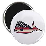 USA Whale Magnets