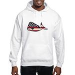 USA Whale Hoodie
