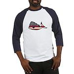 USA Whale Baseball Jersey