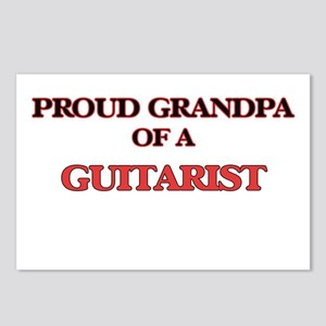 Proud Grandpa of a Guitar Postcards (Package of 8)