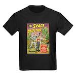 Space Detective 2 Kids Dark T-Shirt