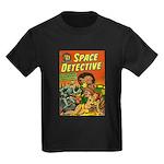 Space Detective 3 Kids Dark T-Shirt