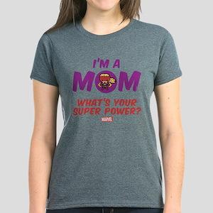 Marvel Mom Captain Marvel Women's Dark T-Shirt