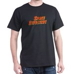 Space Detective LogoWear Dark T-Shirt