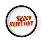 Space Detective LogoWear Wall Clock