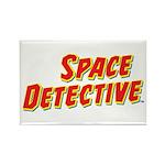 Space Detective LogoWear Rectangle Magnet