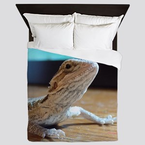 My Little Beardie Queen Duvet