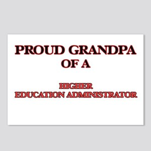 Proud Grandpa of a Higher Postcards (Package of 8)