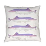 Cornish Jack Fish Everyday Pillow