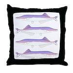 Cornish Jack Fish Throw Pillow