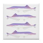 Cornish Jack Fish Tile Coaster