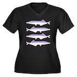 Cornish Jack Fish Plus Size T-Shirt