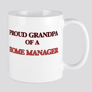 Proud Grandpa of a Home Manager Mugs