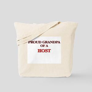 Proud Grandpa of a Host Tote Bag