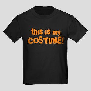 This is My Costume Kids Dark T-Shirt