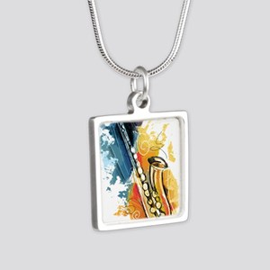 Saxophone Painting Necklaces