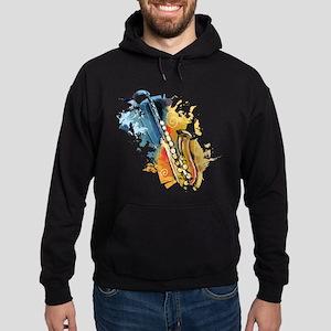 Saxophone Painting Hoody
