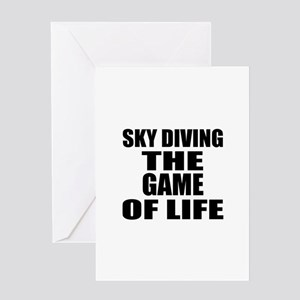 Skye Diving The Game Of Life Greeting Card