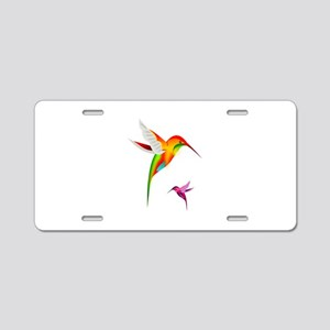 Colibri Birds Aluminum License Plate