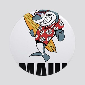 Maui Round Ornament