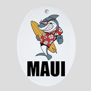 Maui Oval Ornament