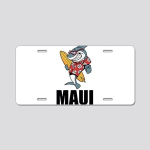 Maui Aluminum License Plate