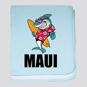 Maui baby blanket