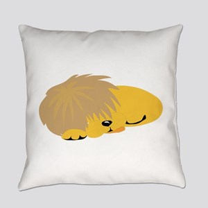 Lion Sleeping Everyday Pillow