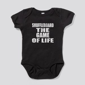 Shuffleboard The Game Of Life Baby Bodysuit