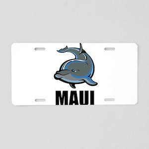 Maui Aluminum License Plate