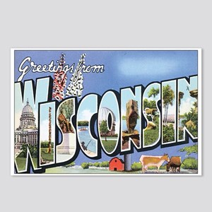 Wisconsin Postcard Postcards (Package of 8)